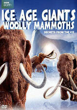 Ice Age Giants: Woolly Mammoths (DVD, 2016, w/Slipcover, BBC Earth) Free Ship !!