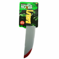 Bloody Scary Kitchen Knife For Fancy Dress Costumes Accessories Halloween