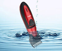 New Rechargeable Waterproof Cordless Grooming Kit-Hair Beard Clipper Trimmer