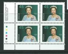 CANADA SG1162g 1995 45c QUEEN BLOCK OF 4 MNH