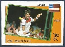 PANINI SUPERSPORT 1988/89- #189-UNITED STATES-TENNIS-TIM MAYOTTE