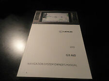 2012 LEXUS GX 460  NAVIGATION SYSTEM OWNERS MANUAL