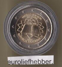 Oostenrijk       2 Euro Commemorative  2007   Verdrag van Rome    UNC