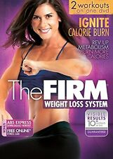The Firm: IGNITE CALORIE BURN DVD Cardio Power Burst Interval Blast workouts NEW