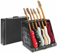 Stagg Model GDC-6 3 Acoustic or 6 Electric Guitar Multistand Stage Display Case