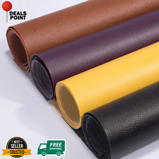 135x50cm Pu Leather Adhesive Sticky Rubber Patch Sofa Fabrics Home Textiles