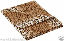 Nima Leopard Dog Blanket 150 x 100cm sofa cover dogs bed