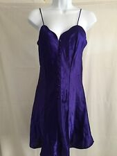Victoria's Secret Purple Nightgown Gold Label Above Knee Length Nwt small