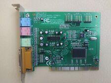 Creative Sound Blaster Pci (Ct-4810) Vintage Sound Card (Tested)