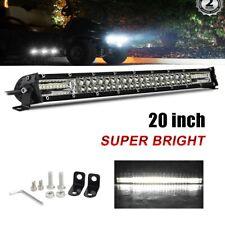 "20inch 180W LED Light Bar Spot Flood Combo Driving Fog Lamp Offroad Truck 22"""