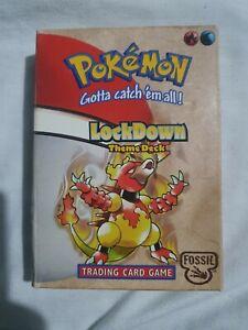 Pokemon LOCKDOWN FOSSIL Theme Starter Deck