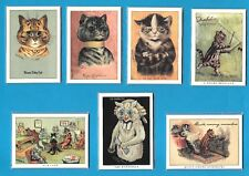 More details for louis wain complete collection - 13 x individual sets of six cards of wains cats