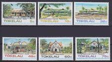 Tokelau Mi Nr. 117 - 122 **, Religion, Kirche, Centren postfrisch MNH
