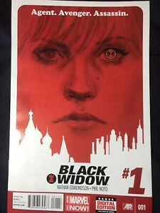 Black Widow 1& 2. Edmonson Noto VF Marvel Movie Soon!!