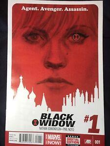 Black Widow 1& 2. Edmonson Noto VF Marvel Movie Soon!!
