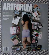 ARTFORUM Magazine, ROSEMARIE TROCKEL, RYAN TRECARTIN, Jessica Stockholder