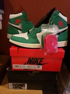 Air Jordan 1 Retro High OG Lucky Green | Size 9.5W/8M| DB4612-300