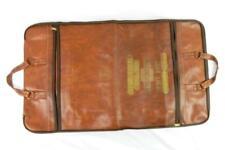 Vintage Leather Garment Bag Wardrobe Brown John Lucas Chevrolet