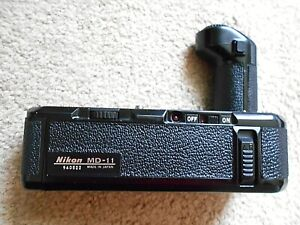 Nikon MD-11 Motor Drive Power Winder for Nikon FA, FE, FM Cameras