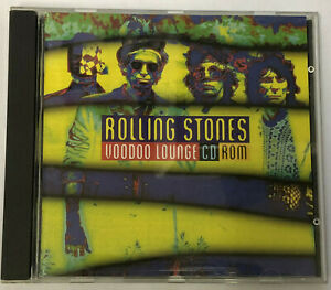 ROLLING STONES Voodoo Lounge CD ROM UK Second Vision 1995 Mac/Pc Compatible CD