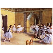 Edgar Degas, Dance Class at the Opera Deco FRIDGE MAGNET, 1872 Fine Art Repro