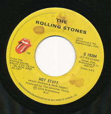 THE ROLLING STONES 45 TOURS CANADA HOT STUFF
