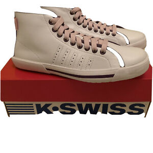 K Swiss Women's Skimmer Mid trainers size White Uk 5 Us 7 Eu 38 91877115 BNIB