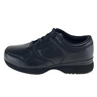 Propet Mens Life Walker M3704 Black Walking Shoes Lace Up Low Top Size 8 D