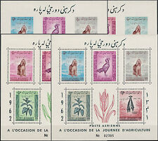 Afganistán 1962 mié # bl 22-23 a + B ** mnh perros Dogs
