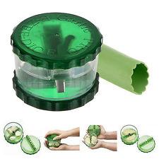 No-Touch Garlic Dicer Pro Peeler Slicer Easy Twist Stripper +Free E-Z Peel New