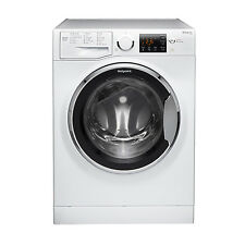 Hotpoint RSG964JX Washing Machine, 9kg Wash Load, 1600 RPM Spin Speed - White