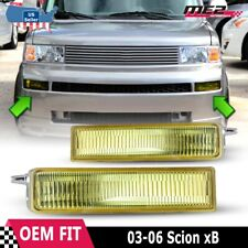 For Scion xB 2003-2006 Factory Replacement Fit Fog Lights + Switch Yellow Lens