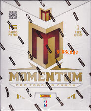 2012-13 PANINI MOMENTUM NBA HOBBY SEALED BOX: ANTHONY DAVIS/KYRIE/KAWHI RC AUTO