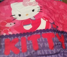 Hello Kitty Twin Comforter & 3 Pc. Set Plus Pair Of Curtains