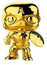 Funko POP Figures. Marvel CAPTAIN AMERICA GOLDEN CHROME. #377