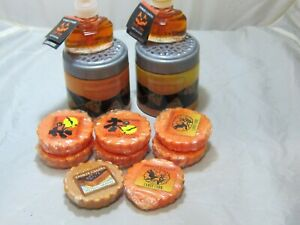 Yankee Candle Fall Halloween 12Pc Lot Candy Corn Tarts Spheres Electric Refills