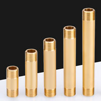 """1/2"""" Brass BSP Male Thread Hex Nipples Connector Coupler Adapter Pipe Fitting"""