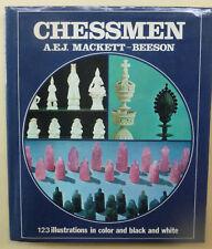 CHESSMEN Book Mackett Beeson 1973 First Ed. USED