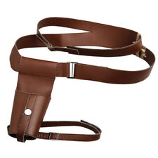 Star Wars The Last Jedi Rey Cosplay Belt With Holster Brown Props Accessory