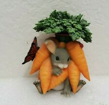 Charming Tails You're The Best Of The Bunch Mouse Carrots Gift Handcrafted