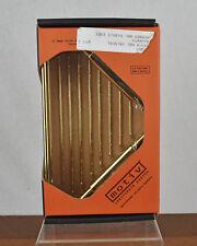 "NEW Solid Brass Motiv Hotelier Series Deep Corner Basket Caddy 6"" Model 553D-PVD"