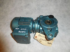 Sew Eurodrive SA471TD71D4/DFT71D4 Gear Motor 1/2HP 17.62:1 Ratio THRU SHAFT