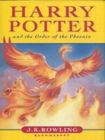 Harry Potter and the Order of the Phoenix by J.K. Rowling (Hardback) Great Value