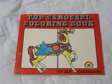The Carousel Coloring Book (1978, Paperback)
