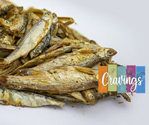 Fish Food Premium Dried Fish 4-7cm