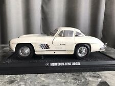 Kyosho 1:18  Mercedes-Benz  300 SL  Gullwing  White. Never Displayed.
