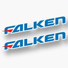 2X FALKEN TIRES DECAL STICKER US MADE TRUCK VEHICLE JDM RACING CAR WINDOW