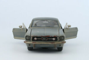 1:24 1967 Ford MUSTANG GT Diecast Alloy Car Model Mens Collection Gift Maisto -J