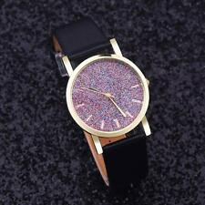 Fashion new Women watch Leather Band Analog Quartz  Ladies Wrist Watch Reloj
