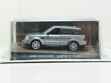 James Bond Car Collection 79 Range Rover Sport - Quantum of Solace & Magazine